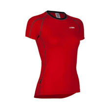 DHB WOMENS LADIES RED CYCLING BIKE BICYCLE RUNNING INSULATED THERMAL TOP JERSEY