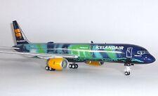 Boeing 757-200 Icelandair Hekla Aurora Gemini Jets Model Scale 1:200 G2ICE579  G