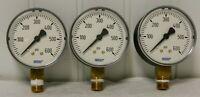 "Wika Pressure Gauge 2-1/2"" Dial 1/4 Thread 0-600 Range QTY 3 4253183"