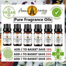 FRAGRANCE OILS - 10ml Oil Scents Diffuser, Burner, Soap Candle 100+ Fragrances