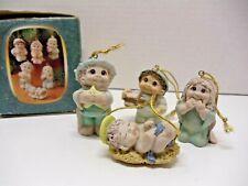 2001 Dreamsicles Polystone Mini Nativity Ornaments~2 Missing Ornaments