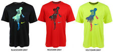 Nike Legend 1.3 Lacrosse Tee Item VOLT/DARK GRAY# 549744-731  SIZE XL