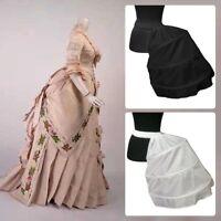 Baroque Cage Frame Petticoat Vintage Punk Half Bustle Victorian Skirt Pannier