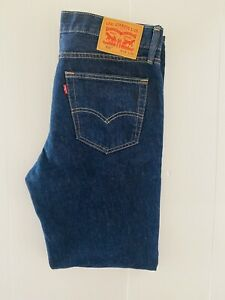Levi's 516 Men's Size W34 L32 Blue Denim Jeans