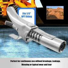 "Zerk Fittings 10000 PSI 1/8"" NPT Self-Locking Grease Coupler Two Press 35FP24"