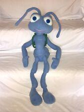 "Disney Pixar A Bug's Life Talking Flik Plush Stuffed Animal Doll w Backpack 22"""