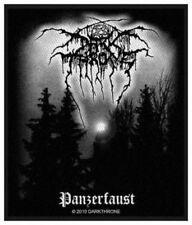 Darkthrone Panzerfaust Patch Aufnäher Black Heavy Thrash Metal Kutte NEU