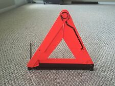 1998-2004 AUDI A6 C5 A4 - EMERGENCY SAFETY TRIANGLE WITH MOUNTING BASE, USED.