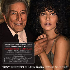 TONY BENNETT & LADY GAGA Cheek To Cheek Deluxe Edition CD NEW 18 Tracks