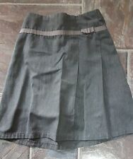 Girls Grey Adams School Skirt Age 6 Years