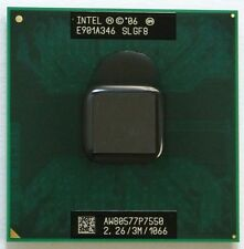SLGF8 Intel Core 2 Duo Mobile P7550 2.267GHz/3M/1066MHz Socket P Processor