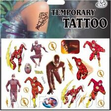 NEW Flash Temporary Tattoo Sheet Children Kids Birthday Party Bag Filler