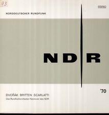 Dvorak, Britten, Scarlatti NDR 1970, Willy Steiner, RSO Hannover LP