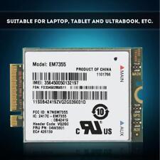 EM7355 gobi5000 Wireless 4G LTE HSPA+ Module Card NGFF M2 For Laptop Desktop PC
