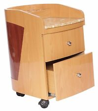Spa Pedicure chair Cart / Spa Pedicure Trolley / PediCart With Marble Top