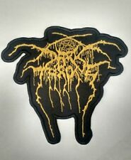 DARKTHRONE Embroidered Patch IRON ON or SEW ON Black Metal USA Seller