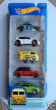 Hot Wheels Volkswagen 5 Car Limited Edition Collection Pack