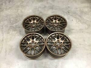 "19"" x4 New M3 CSL Style Alloy Wheels Satin Bronze BMW 5x120 E46 E90 Z4 E92"