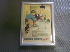 Jacobs Kaffee  alte Reklame im Bilderrahmen (295)