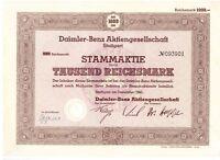 Daimler Benz AG  1000RM  Stuttgart 1941    ungelocht