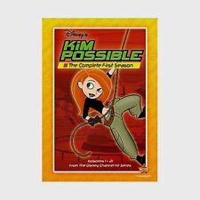 Disney Channel Kid Tween Teen Hit Series Kim Possible Complete Season 1 on DVD