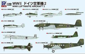 Pitroad 1/700 Scale Luftwaffe Aircraft 2 (Rebox of PITS19)