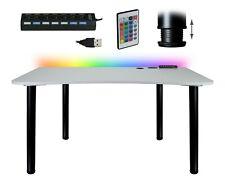 Gaming Computertisch Schreibtisch Büro PC Tisch  Esstisch zwei Farbe HUB USB