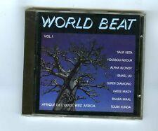 CD (NEW) VOL 1 WORLD BEAT AFRIQUE DE L'OUEST (S.KEITA Y.NDOUR I.LO TOURE KUNDA)