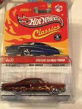 Hot Wheels Classics Chase '65 Pontiac Bonneville Error Custom 56 Ford Truck Card