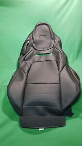 for JAGUAR F-TYPE RIGHT HAND SEAT SQUAB COVER JET BLACK R GENUINE T2R23187PVJ