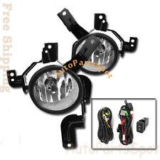 Fog Lights Clear Lens Bumper Lamps Kit Accessories For 07-09 Honda CRV FL7032