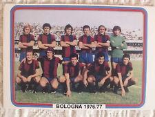 CARTOLINA CALCIO SQUADRA BOLOGNA SCHIERATA 1976/77 BELLUGI MASELLI CLERICI.....