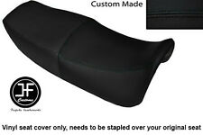 BLACK AUTOMOTIVE VINYL CUSTOM FITS HONDA VF 750 F 83-84 DUAL SEAT COVER ONLY