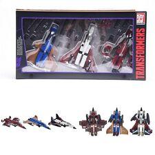 Transformers G1 Platinum Edition SEEKER SQUADRON Digre Thrust Ramjet Gift Hot