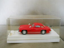 SOLIDO Age D'Or 4502 RED MERCEDES BENZ 300 SL in Plastic Case 1:43 Scale EUC