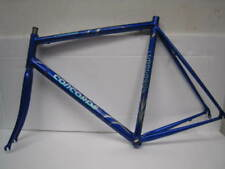 CONCORDE ROAD BIKE FRAME WITH FORK ALUMINUM TUBING 58cm BLUE VERY NICE SEE