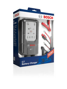 Bosch C7 Chargeur de Batterie Automatique 12-24 V / 7 A