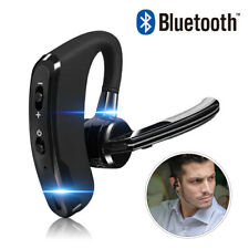 Wireless Bluetooth Headset Handsfree Earpiece Noise Reduction Microphone Earbud
