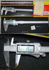 dasqua Gros écran CALIBRE numérique 0-200 mm / 0-20.3cm métal récipient