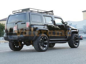 "Hummer H3 (06-10) Fenders Flares ""Off Road Sports"" +80mm tuning"