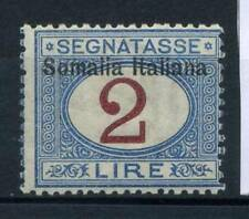 Italie 1909 Sass. 20 Neuf * 100% Timbre-taxe 2 l.