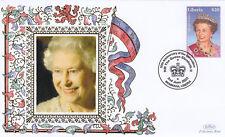 (18968) Liberia Benham FDC Queen Coronation 2 June 2003