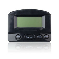 LCD Digital Count Kitchen Cooking Timer Magnetic Electronic Alarm Black