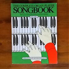 The Complete Organ Player Songbook Volume 2 Kenneth Baker