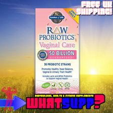GARDEN OF LIFE Raw Probiotics VAGINAL CARE Healthy yeast balance, urinary tract