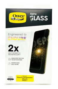 Otterbox Alpha Glass Screen Protector for Apple iPhone 7 /8 / SE (2nd gen) NEW!