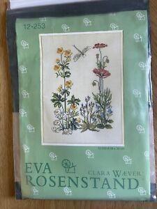 Eva Rosenstand Cross Stitch Kit No 12-253 On Linen