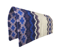 Hand Woven Custom Saddle Blanket Woolen Western Premium Show Rodeo Ranching Fun