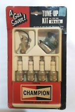 Vintage Champion Spark Plug 4 Cyl Ford Tune Up Kit Pinto 1971-74 Ponts Condensor