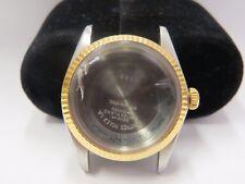 Rolex bezel Date ref 1500 case parts Vintage crown
